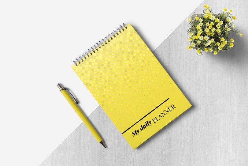 Daily planner - cover
